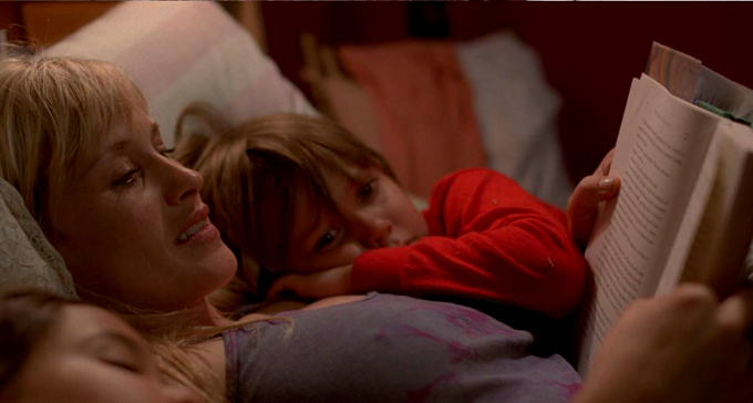 Patricia Arquette and Eller Coltrane in BOYHOOD