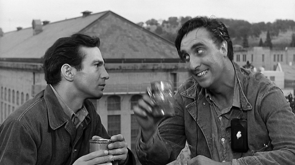 Ben Gazzara and Timothy Carey in CONVICTS 4