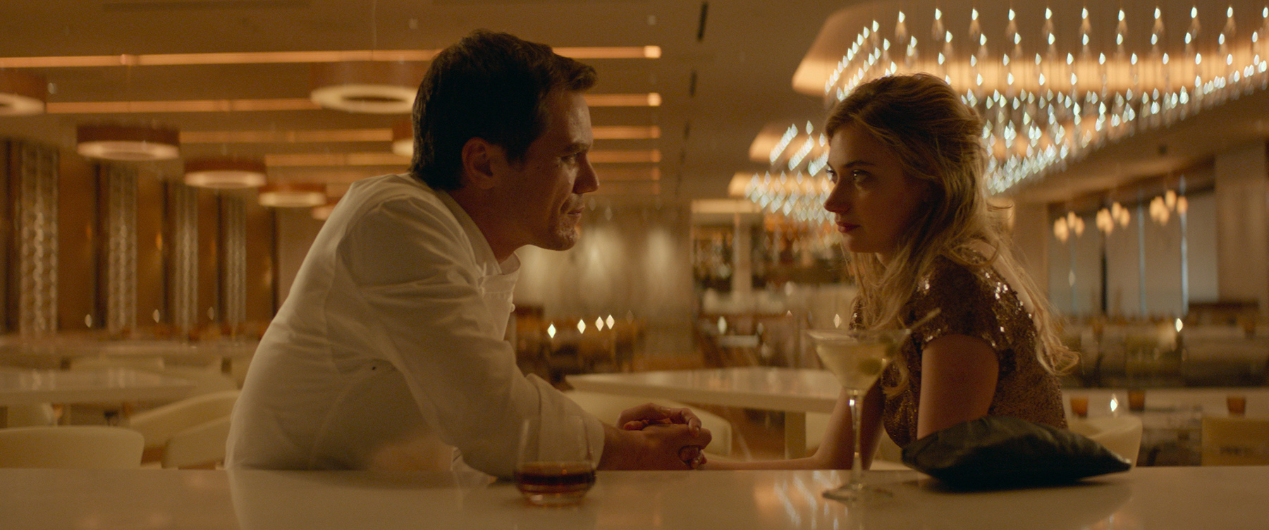 Imogen Poots with Michael Shannon in FRANK & LOLA.  Photo courtesy of the San Francisco Film Society.