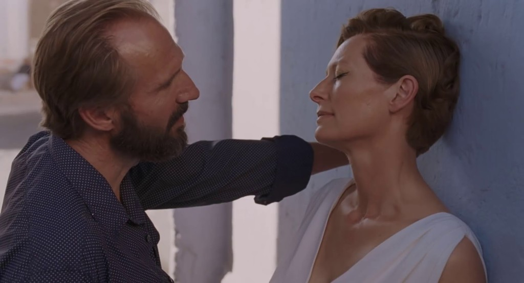 Ralph Fiennes and Tilda Swinton in A BIGGER SPLASH
