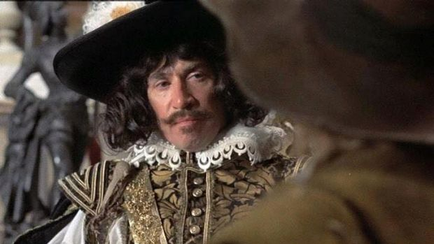 Frank Finlay in THE THREE MUSKETEERS