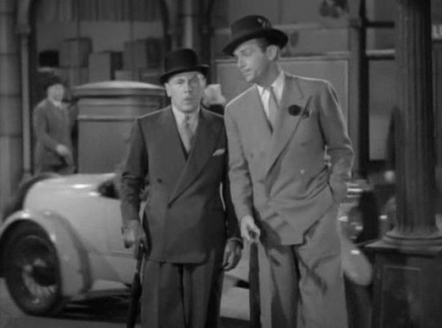 Roland Young and Douglas Fairbanks, Jr. in THE YOUNG IN HEART