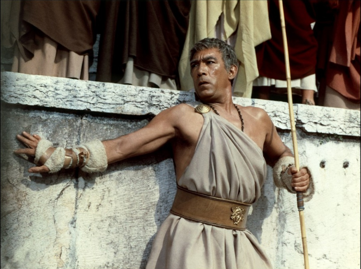 Anthony Quinn in BARABBAS