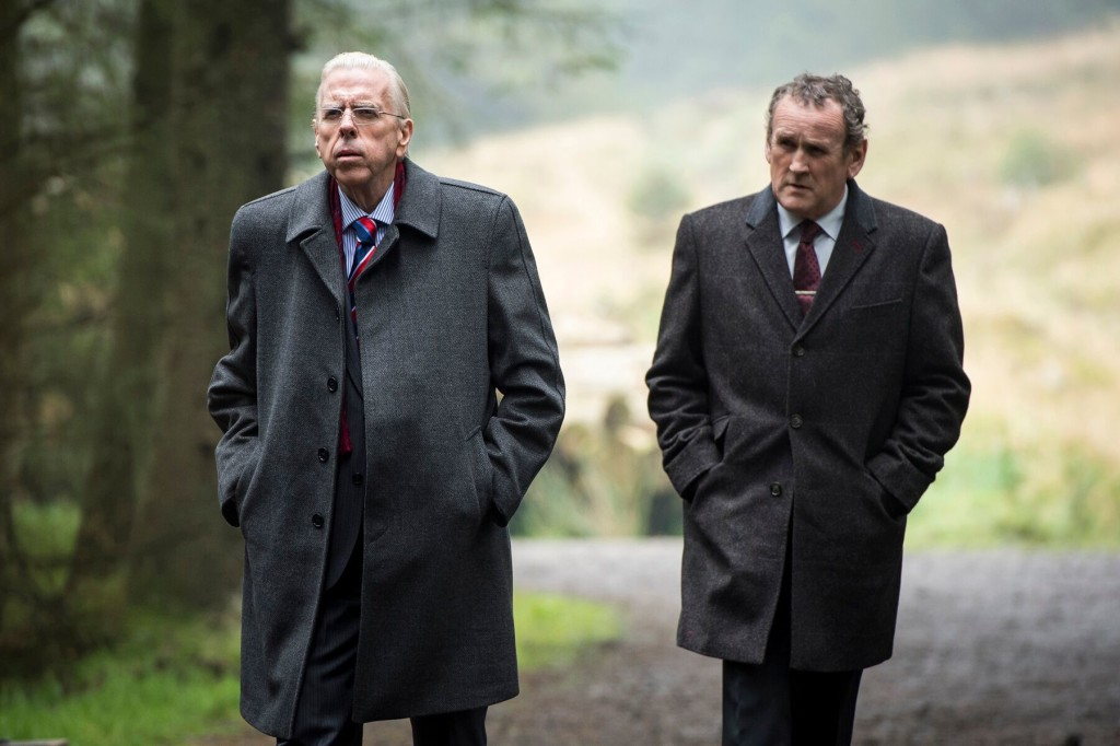 Timothy Spall and Colm Meany in THE JOURNEY photo courtesy of SFFILM
