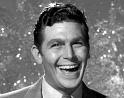 Andy Griffith is the dangerous Lonesome Rhodes in A Face in the Crowd