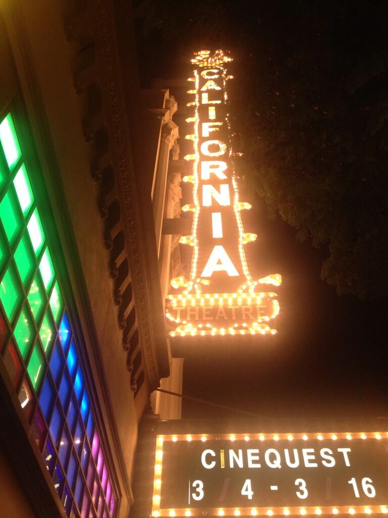 Cinequest at San Jose's California Theatre