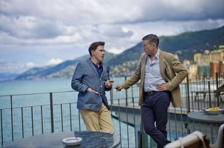 Steve Coogan and Rob Brydon in THE TRIP TO ITALY