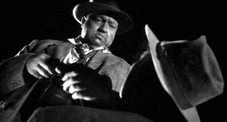 Orson Welles in his TOUCH OF EVIL
