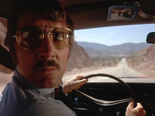 Dennis Weaver in Stephen Spielberg's DUEL