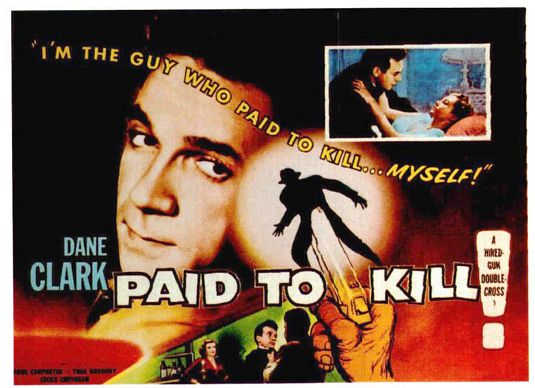 paid to kill poster