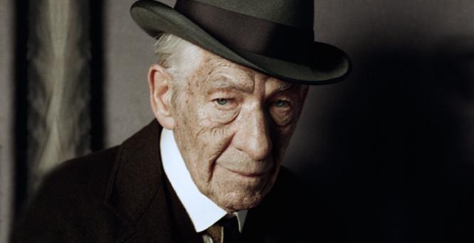 Ian McKellen as MR. HOLMES