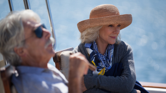 Sam Elliott and Blythe Danner in I'LL SEE YOU IN MY DREAMS