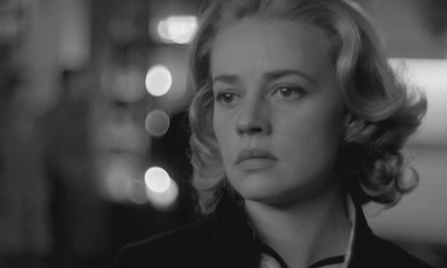 Jeanne Moreau in ELEVATOR TO THE GALLOWS