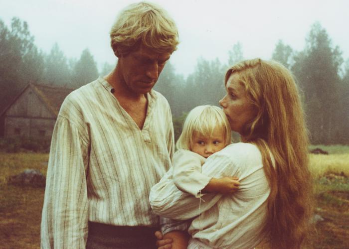 Max von Sydow and Liv Ullman in THE EMIGRANTS