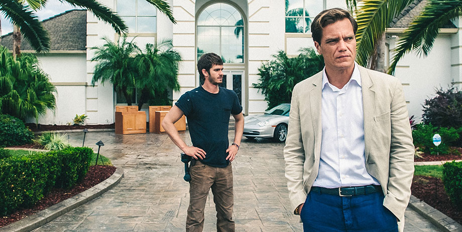 Andrew Garfield and Michael Shannon in 99 HOMES
