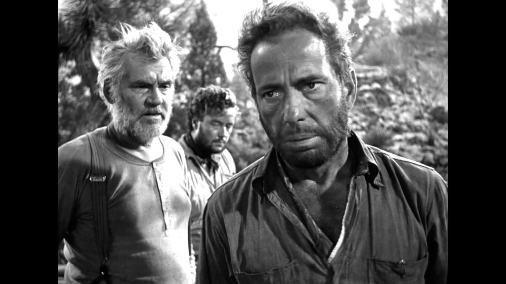 Walter Huston, Tim Holt and Humphrey Bogart in THE TREASURE OF THE SIERRA MADRE