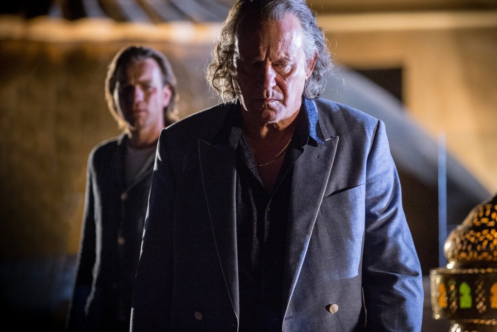 Ewen McGregor and Stellan Skarsgaard in OUR KIND OF TRAITOR