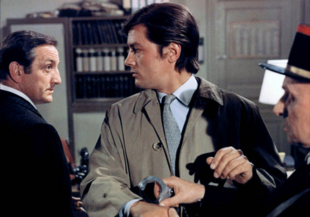 Lino Ventura and Alain Delon in THE SICILIAN CLAN