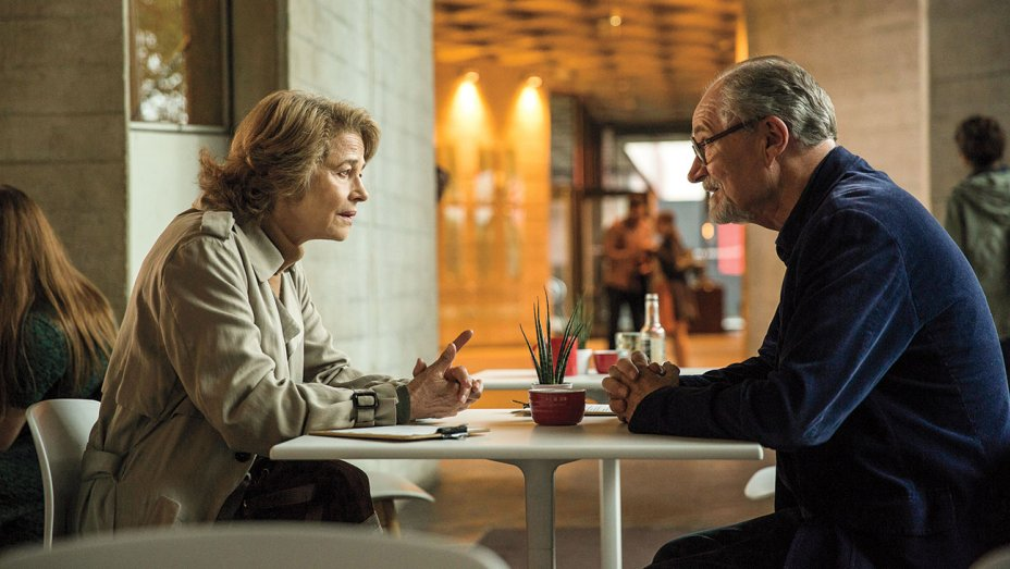Charlotte Rampling and Jim Broadbent in THE SENSE OF AN ENDING at CINEQUEST on Sunday