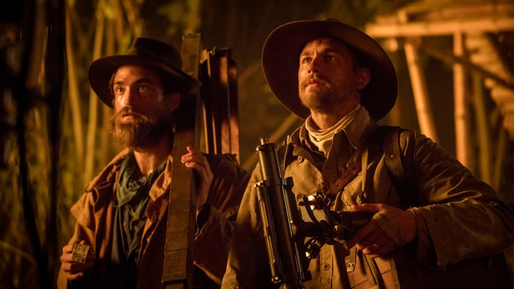 Robert Pattinson and Charlie Hunnam in THE LOST CITY OF Z photo courtesy of SFFILM