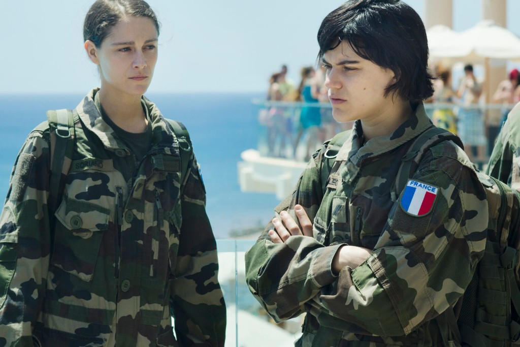 Ariane Labed and Soko in THE STOPOVER photo courtesy of SFFILM